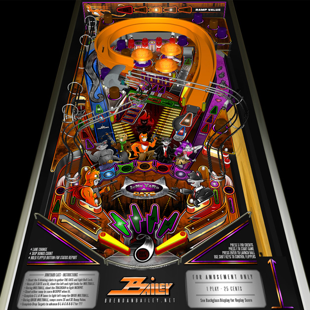 pinball machine design images